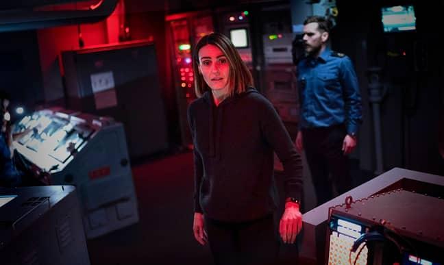 Suranne Jones as DCI Amy Silva in Vigil ' Credit: BBC/Gareth King