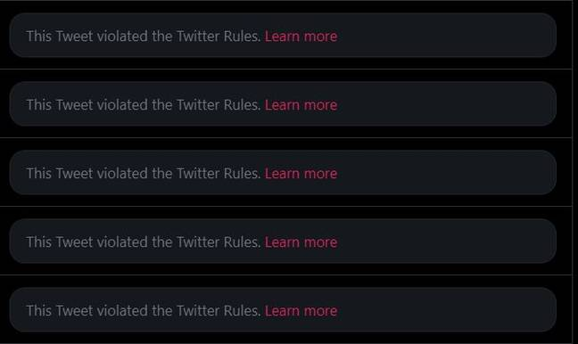 People are having their accounts suspended by Twitter for saying 'Memphis'. Credit: Twitter