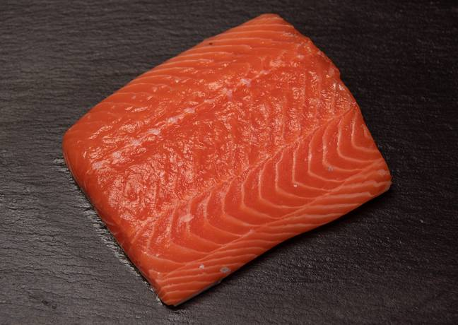 Lovely salmon colour that, eh? Credit: PA