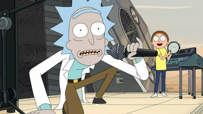 Rick and Morty season four will be released at some time in November. Credit: Adult Swim