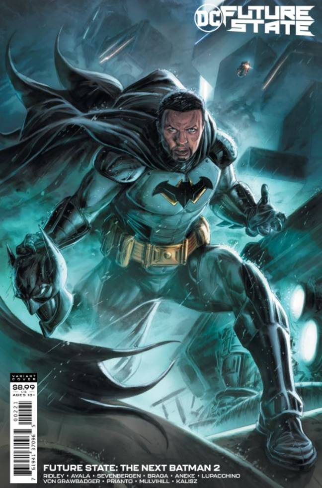 The new series will see Batman played by Tim Fox. Credit: DC Comics