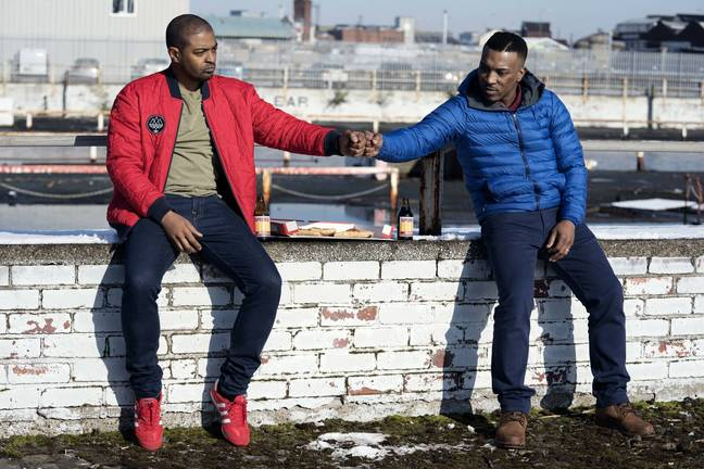 Ashley Walters and Noel Clarke. Credit: Sky One