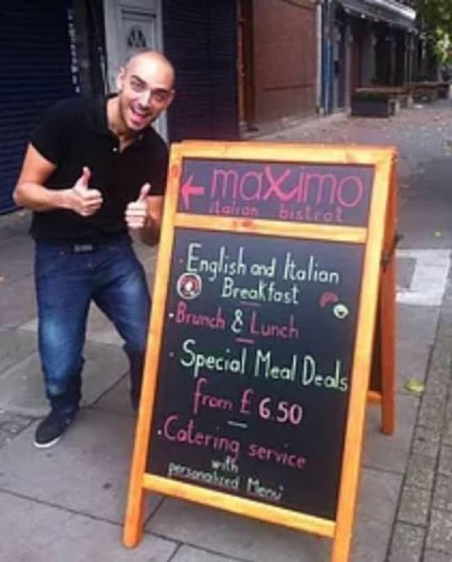 Chef Massimo Donato is known for his razor-sharp tongue. Credit: Maximo Italian Bistrot
