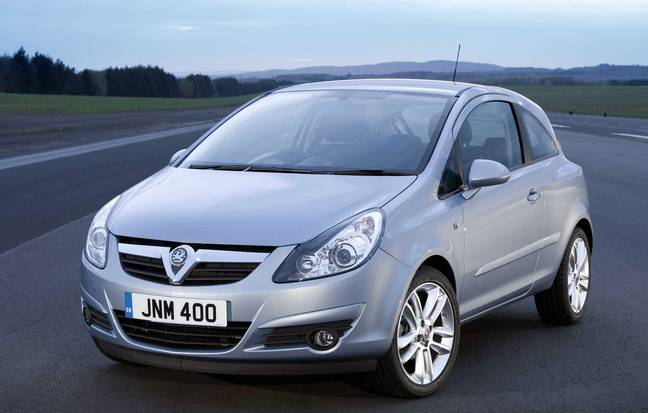 Vauxhall Corsa cars featured on the list. Credit: PA