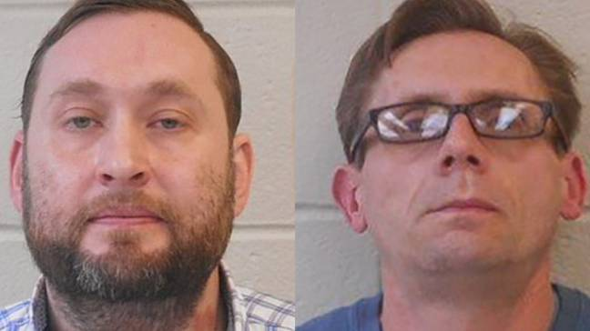 Both men are on administrative leave. Credit: Clark County Sheriff's Office