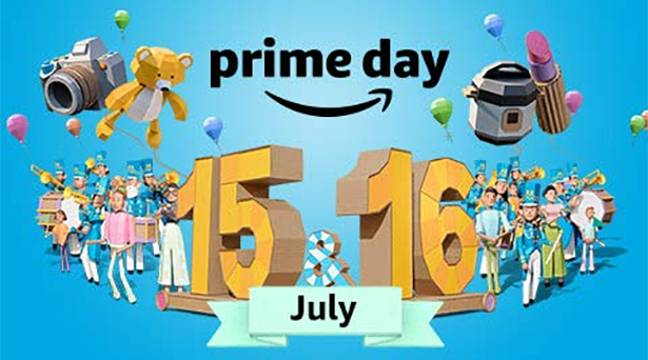 Amazon Prime Day Is 15th & 16th July 2019. Credit: Amazon