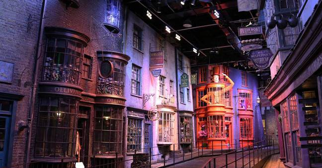 Diagon Alley will be getting into the festive spirit for the first time. Credit: Warner Bros. Studio Tour