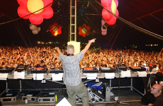 Creamfields has a strict alcohol limit of 24 cans of beer and 1 litre plastic bottle of spirit or wine. Credit: PA