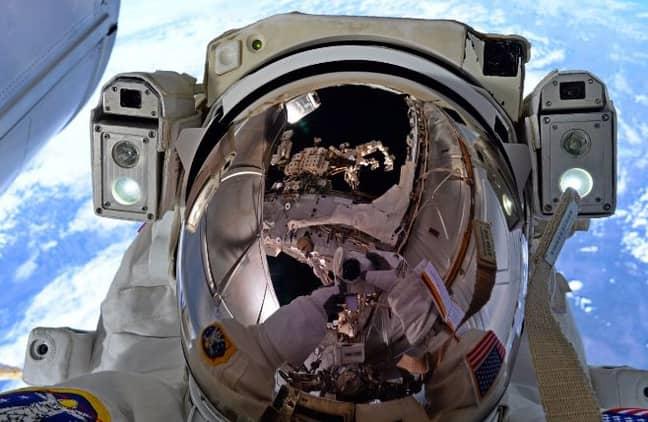 NASA man in Space