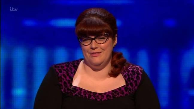 Lots of people didn't recognise Chaser Jenny Ryan. Credit: ITV