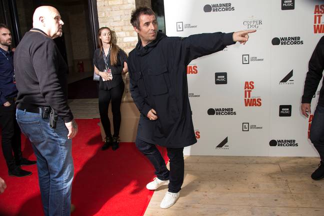 Liam Gallagher says he can tackle 30 pints in one session. Credit: PA