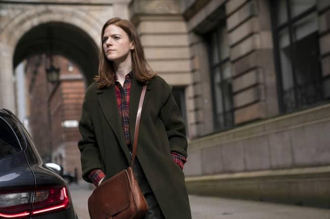 Game of Thrones' Rose Leslie stars in Vigil - the BBC's new thriller ' Credit: BBC/Gareth King