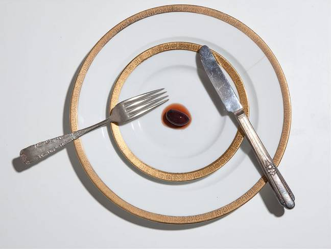 Henry Hargreaves recreated the meal for his photo book No Seconds. Credit: Henry Hargreaves