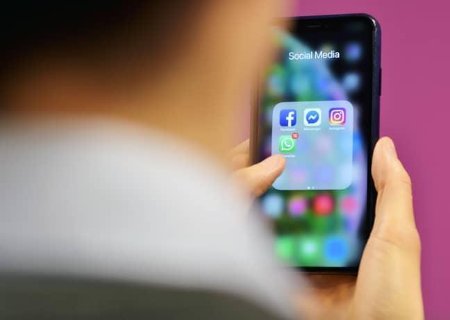 Social media usage has rocketed in lockdown. Credit: PA