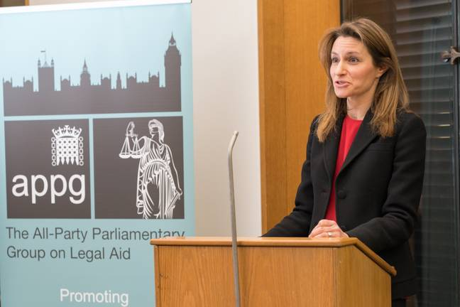 Justice Minister Lucy Frazer. Credit: PA