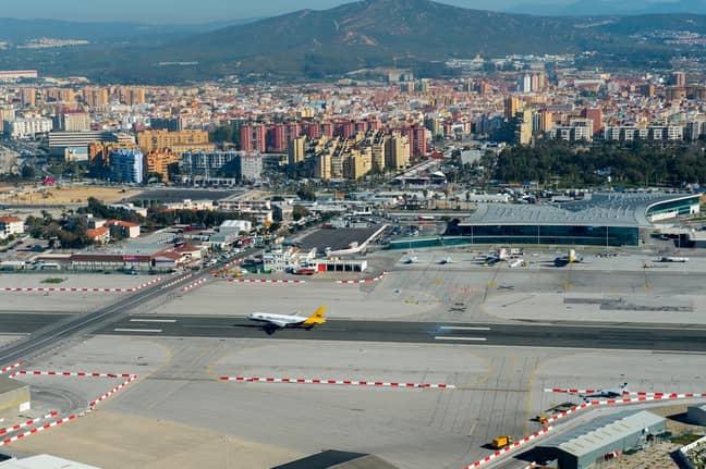 Gibraltar Airport. Credit: Getty