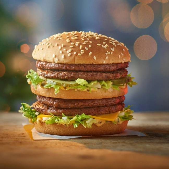 The Double Big Mac is available now. Credit: McDonald's