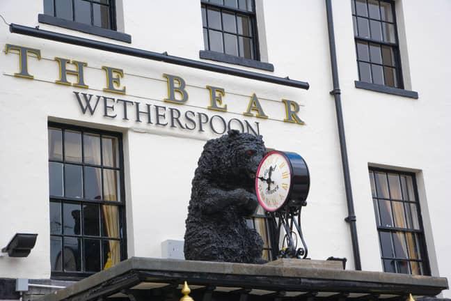 The bizarre incident took place at The Bear in Maidenhead, Berkshire. Credit: JEVGENIJA/Alamy Stock Photo