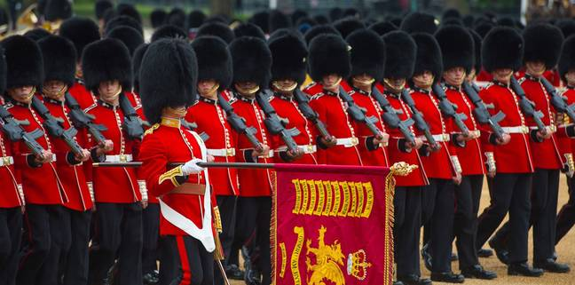 Trooping the Colour is a spectacular military display to celebrate the Queen's birthday ' Credit: The Royal Family
