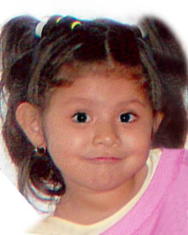 A picture of Jacqueline Hernandez shared back in 2007 when she was abducted. Credit: Florida Department of Law Enforcement