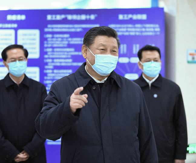 China's leader Xi Jinping. Credit: PA