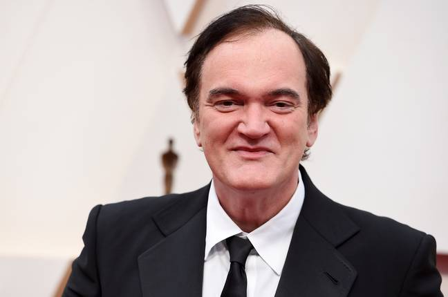 Quentin Tarantino at the Oscars. Credit: PA