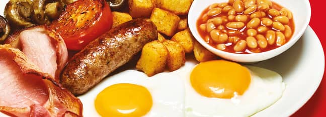 Frankie & Benny's All You Can Eat Breakfast. Credit: Frankie & Benny's