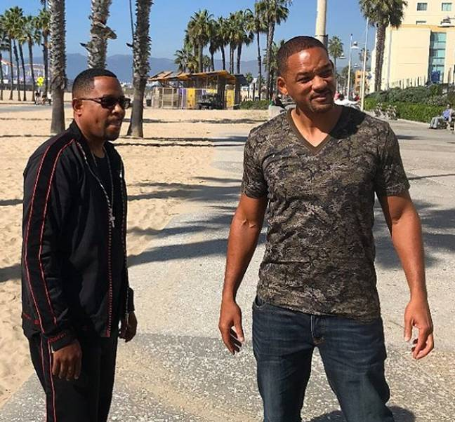 Will Smith and Martin Lawrence in 'Bad Boys'. Credit: Columbia Pictures