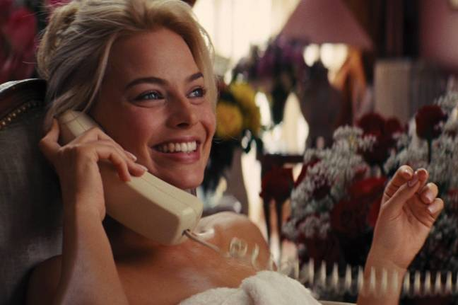 Margot Robbie as Naomi Lapaglia in The Wolf of Wall Street. Credit: Paramount Pictures