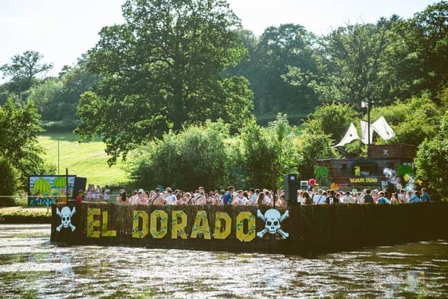 Treasure Island offers a pontoon-based paradise worth queuing for. Credit: El Dorado