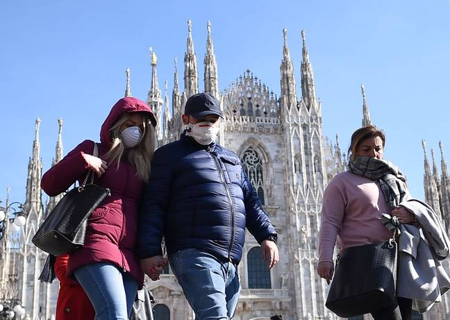 Italy has imposed strict travel restrictions in the Lombardy region. Credit: PA