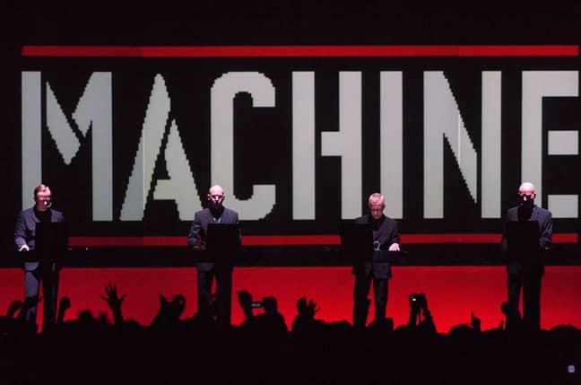 Kraftwerk performing in 2005. Credit: PA