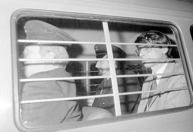 Nilsen in custody in 1983. Credit: PA