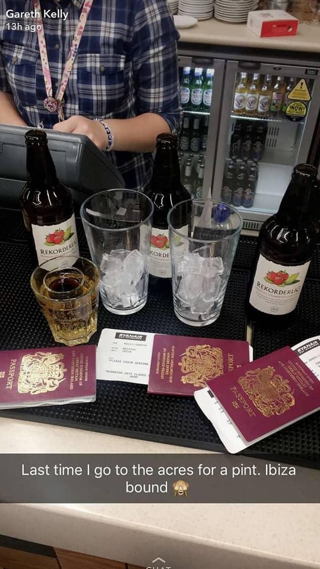 Quick decision lets LAD go to Ibiza