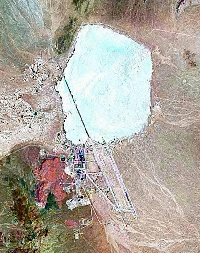 Area 51, allegedly. Credit: Wikimedia Commons
