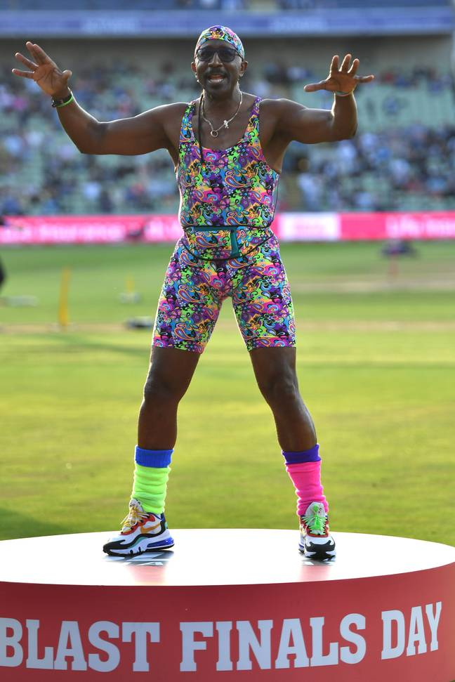 Mr Motivator's new workout has left some hot under the collar. Credit: PA
