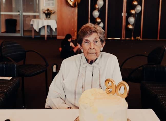Mark's grandma, Penny Jackson. Credit: Mark Lewis Jackson