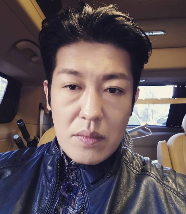 Heo Sung before he put on the pounds for his role. Credit: Instagram/@heosungtae