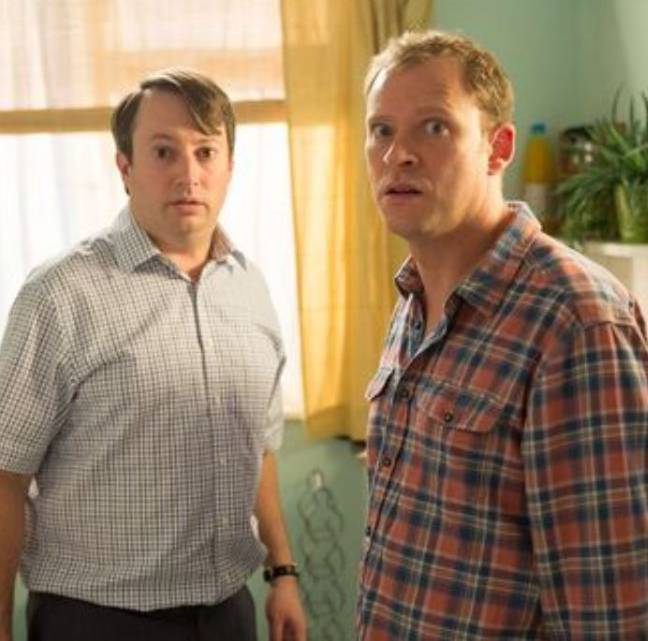 Mitchell and Webb said they would like to return to Peep Show in 20 years. Credit: Channel 4
