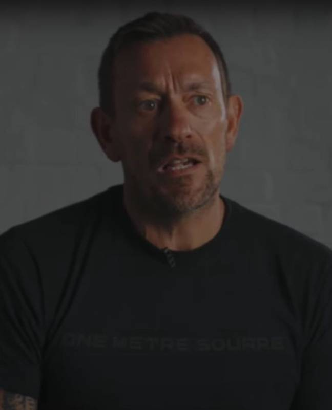 The SAS: Who Dares Wins star nearly died. Credit: YouTube