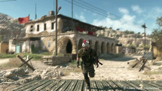 A scene from Metal Gear Solid 5. Credit: Konami