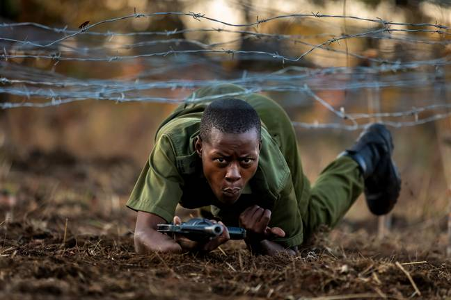 Nyaradzo was part of a team of 16 who protect wildlife in Zimbabwe. Credit: Supplied