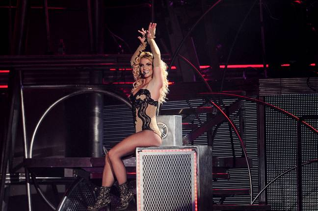 Fans think Britney is speaking in her 'real' voice in a new video. Credit: PA
