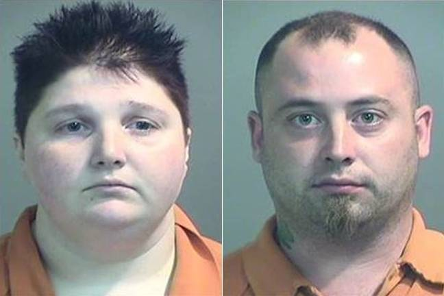 Emily Burrison, left, and Jeffrey Jones, right. Credit: Genesee County Sheriff's Office
