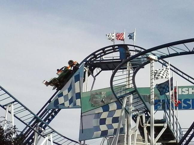 The woman fell to her death from the Formula 1 ride at Parc Saint-Paul. Credit: TripAdvisor