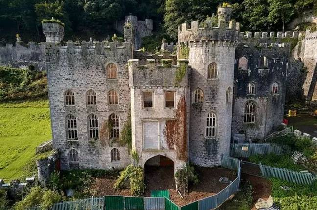 Gwrych Castle. Credit: Shutterstock