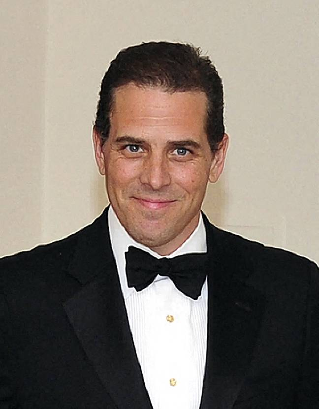 Hunter Biden is currently under investigation. Credit: PA
