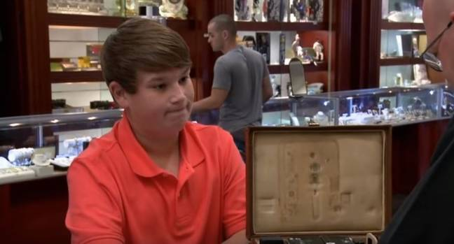 King Curtis appeared on Pawn Stars when he was 14. Credit: History