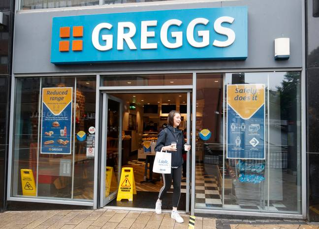 Greggs is back open. Credit: PA
