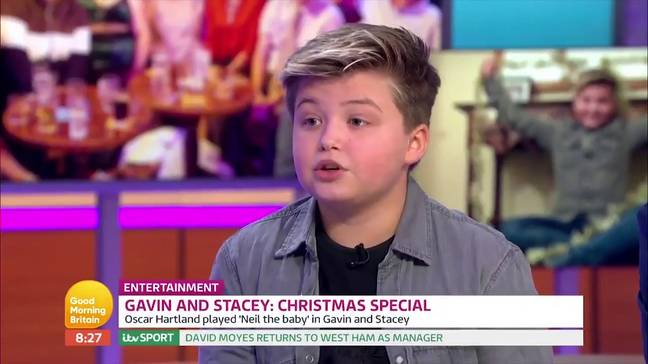 Oscar Hartland on Good Morning Britain. Credit: ITV